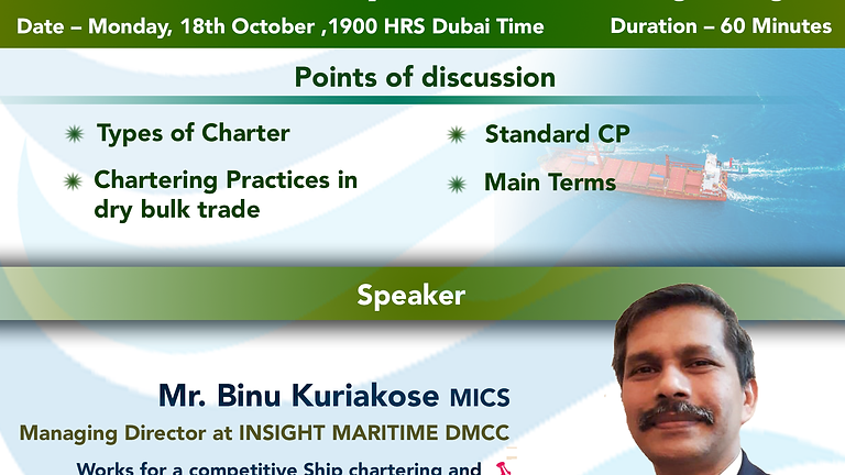 An overview of Dry Bulk Chartering Cargo