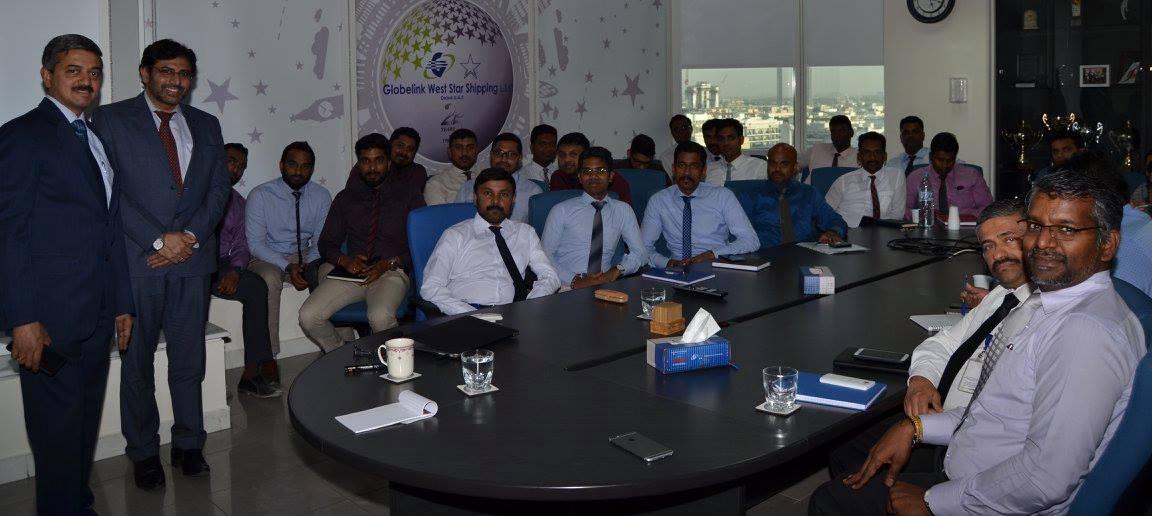 ICS workshop at Globelink WestStar Dubai