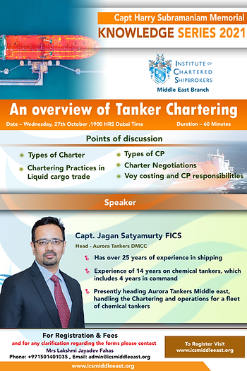 An Overview of Tanker chartering