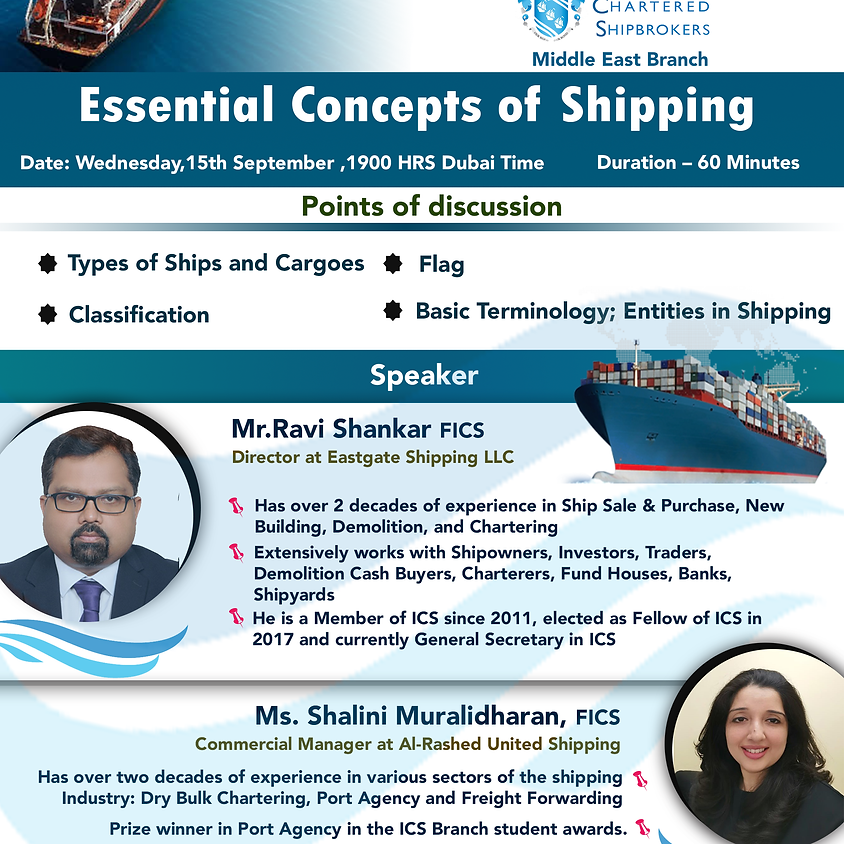 Essential Concepts of Shipping