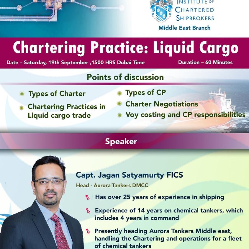 ICS-ME - KS 2020 - Chartering Practice: Liquid Cargo