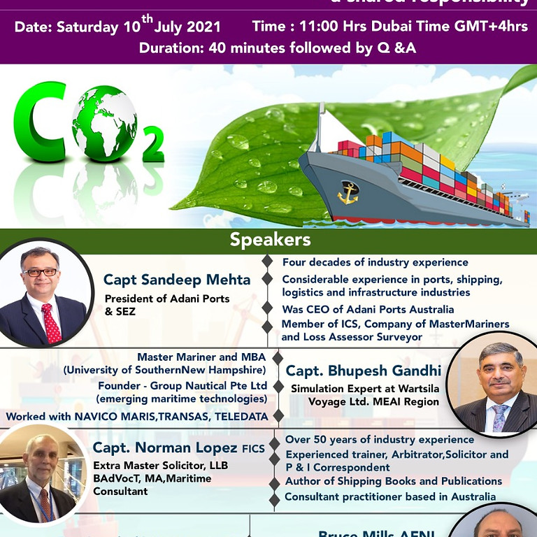 Decarbonisation of the Maritime Industry – A Shared Responsibility