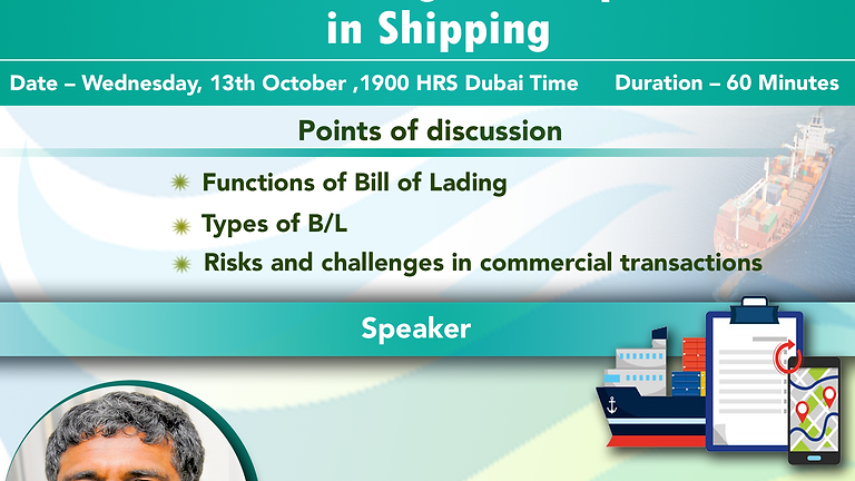 The Bill of Lading Its importance in Shipping