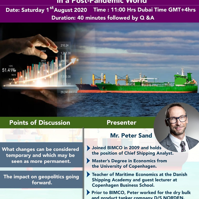 Outlook for the global shipping industry in a post-pandemic world