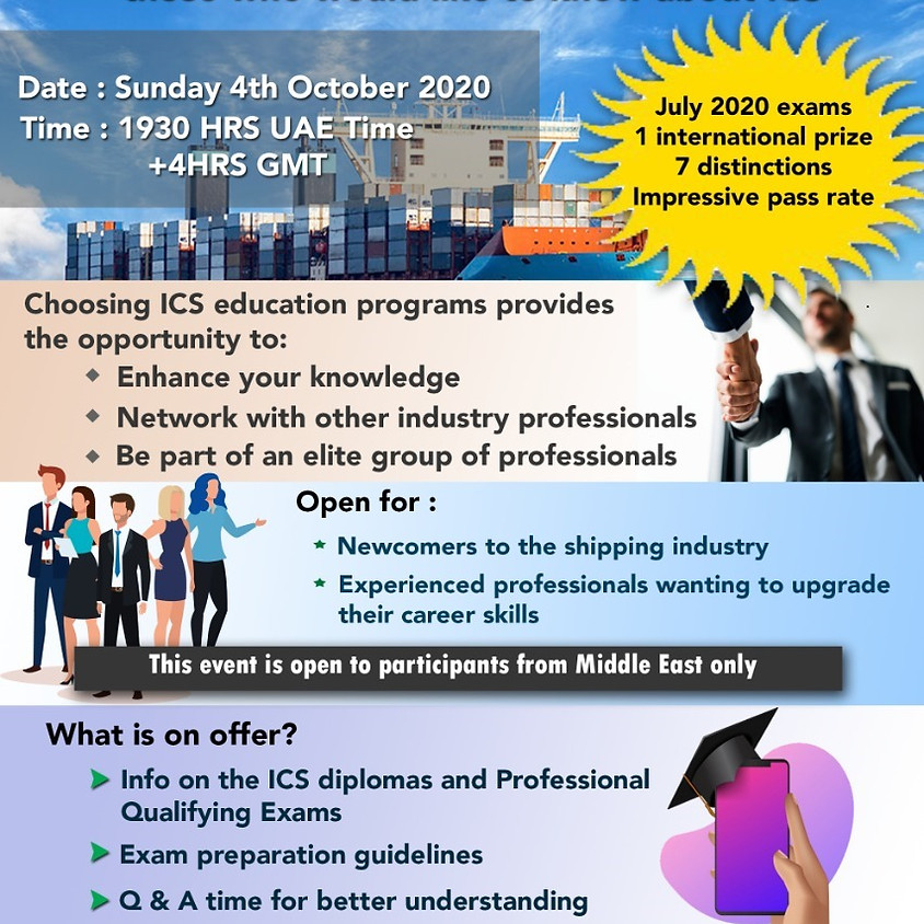 ICS-ME Virtual Open Day