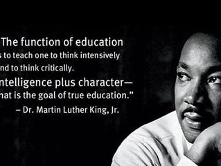 Celebrating Dr. Martin Luther King Jr. Day!