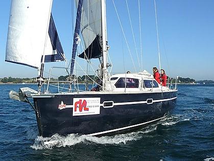 faire de la voile en monocoque, apprendre à naviguer, association de voile, club de croisière