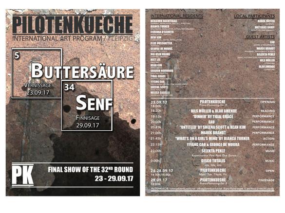 Buttersäure Senf (art exhibition)