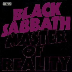"BLACK SABBATH ""MASTER OF REALITY"""