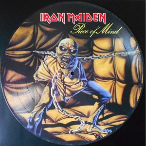"IRON MAIDEN ""PIECE OF MIND"""