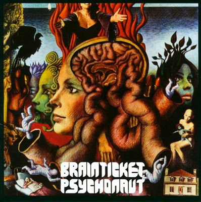 "BRAINTICKET ""PSYCHONAUT"""
