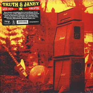"""TRUTH AND JANEY """"ERUPTS!"""""""