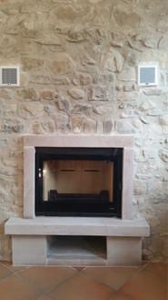 Insert en rénovation dans cheminée existante