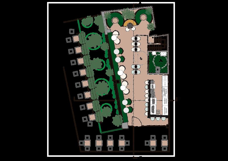 kauri diseño de interiores arquitectura interiorismo interior Málaga plano distribución jungle