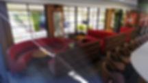 kauri diseño de interiores arquitectura interiorismo interior Málaga barbería bar old talor sofá capitoné 3D lumion