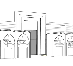 kauri diseño de interiores arquitectura interiorismo interior Málaga dibujo