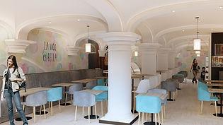 kauri diseño de interiores arquitectura interiorismo interior Málaga la vida es bella gastrobar social