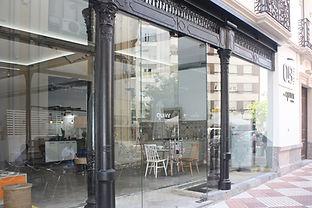 kauri diseño de interiores arquitectura interiorismo interior Málaga tienda de cocinas Córdoba fachada