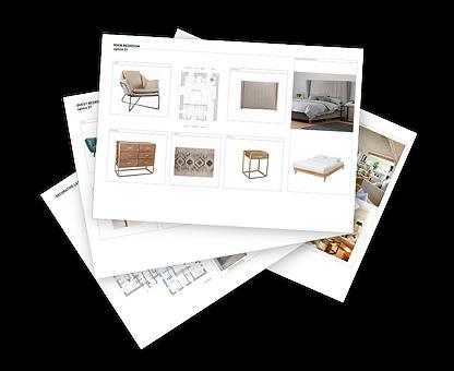 kauri diseño de interiores arquitectura interiorismo interior Málaga moodboard inspiración planos mobiliario selección