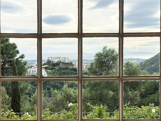 kauri diseño de interiores arquitectura interiorismo interior Málaga vistas ventana paisaje vegetación
