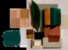 kauri diseño de interiores arquitectura interiorismo interior Málaga paleta materiales texturas moodboard