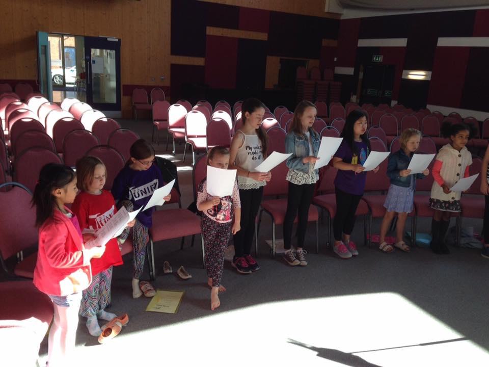 Junify Rehearsals Autumn 2015