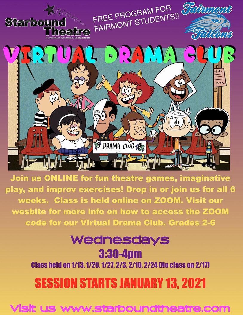 Virtual Drama Club Fairmont Flyer 2021.j