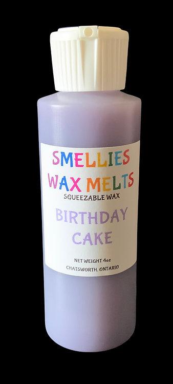 BIRTHDAY CAKE SQUEEZABLE WAX