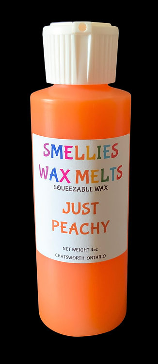 JUST PEACHY SQUEEZABLE WAX