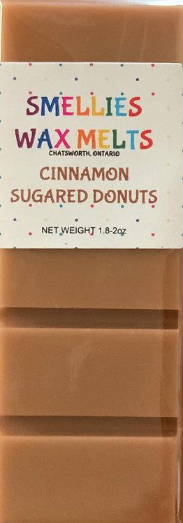 CINNAMON SUGARED DONUTS