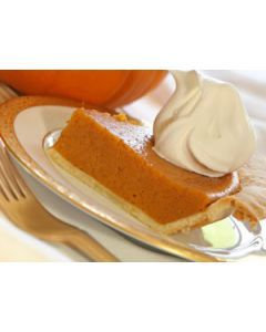 Vanilla Pumpkin Pie Sample