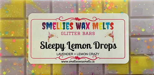 Sleepy Lemon Drops Glitter Bar