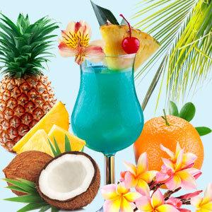 Blue Hawaiian Sample
