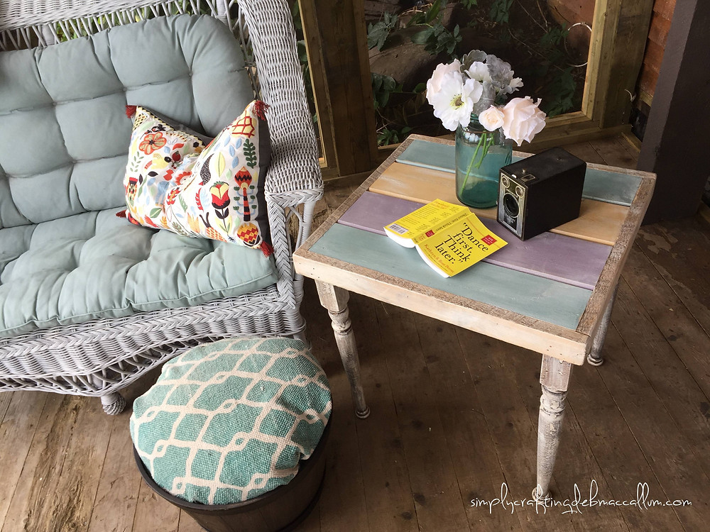 There are so many lovely chalky finish paints out there to try. Find your favourite and use it consistently for the best results and you will end up with a wonderful custom look with a variety of your furniture pieces.