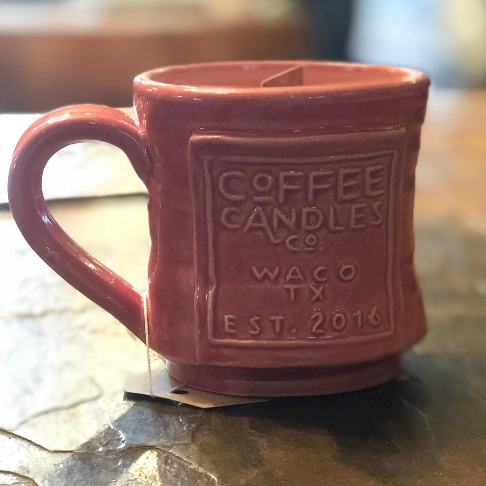 I am so enjoying my little coffee candle!