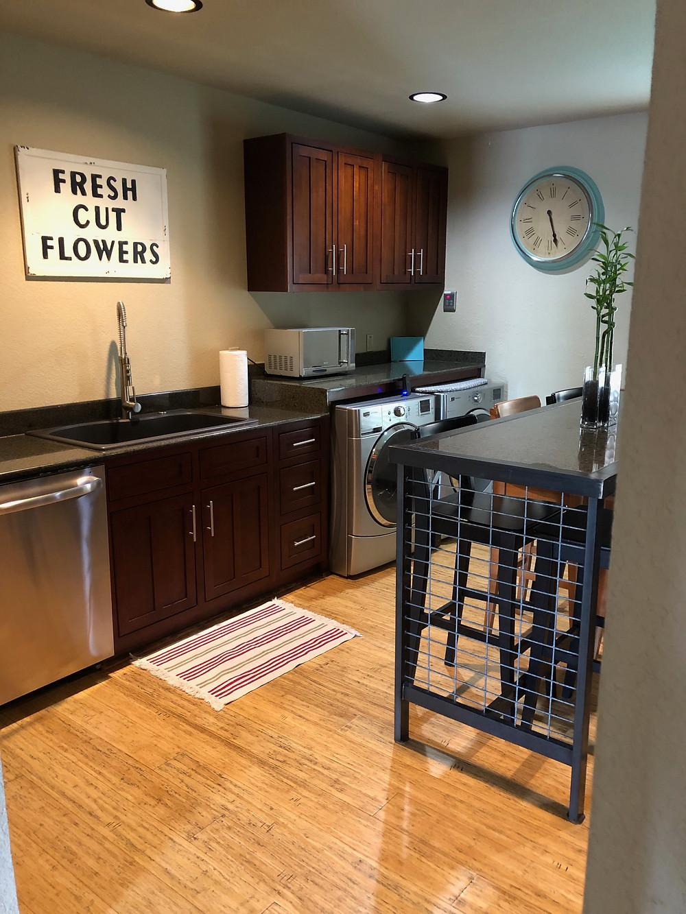 Really nice kitchen set up