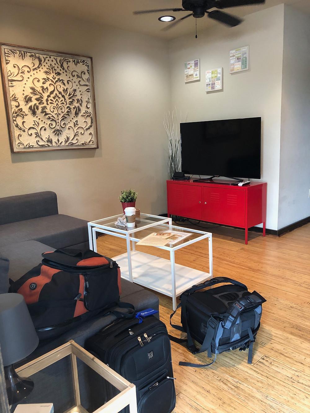 Nice little living room
