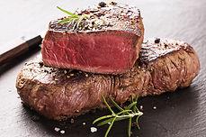 Fresh T-bone steak cut