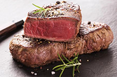 Red meat steak