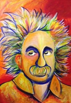 """Sold Chacka's Einstein 72"""" x 60"""""""