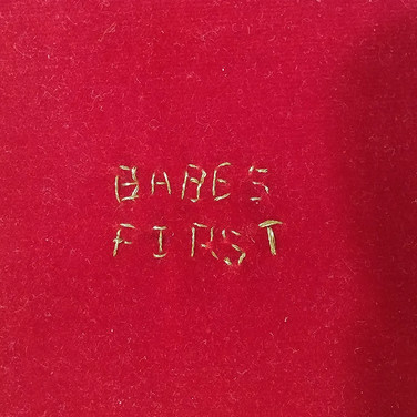 BABE'S FIRST artist's book