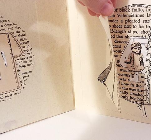 Cinched Peek-a-Boo Book