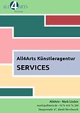 Leistungen von All4Arts Künstler- und Marketingservices
