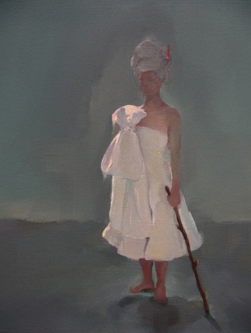 The Noble Bride (with walking stick)