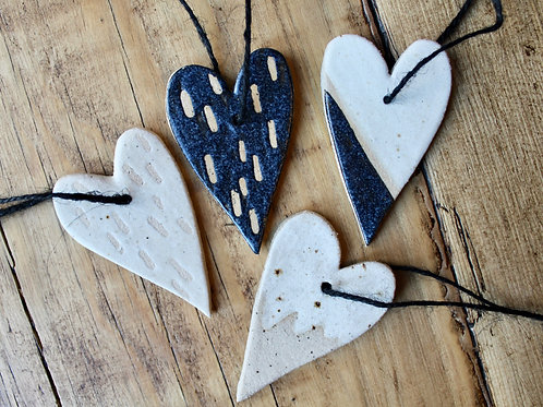 Ceramic Scandi Heart