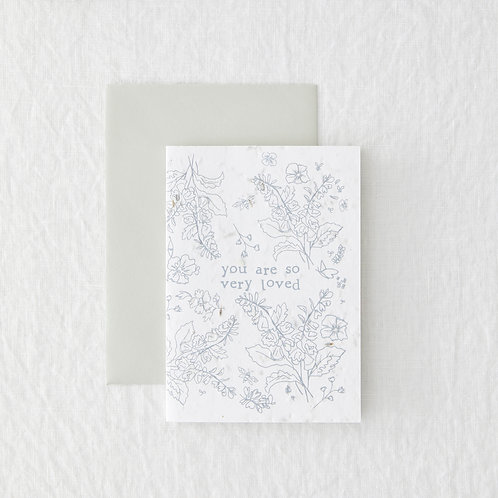So Very Loved // Seeded Card