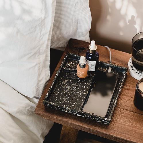Vanity tray // Black