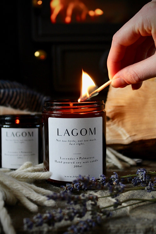 LAGOM Soy Wax Candle