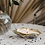 Thumbnail: Gold Oyster Shell Candle