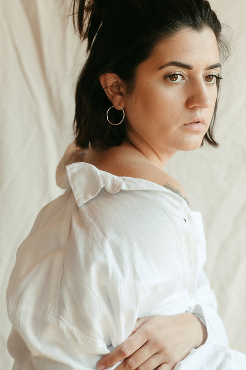 Molten Large Round Hoops